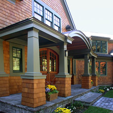 Traditional Exterior by Eric H. Gjerde AIA