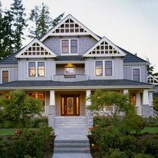 Contemporary Exterior by Hill Custom Homes