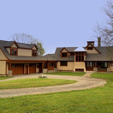 Traditional Exterior by Dale Kolbeck, Architect