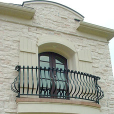 Traditional Exterior by Cheap Stair Parts