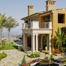 Mediterranean Exterior by Homer Oatman, AIA