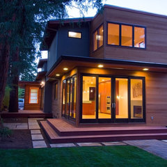 modern exterior by James Witt Homes