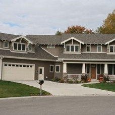 Traditional Exterior by Homes By Design
