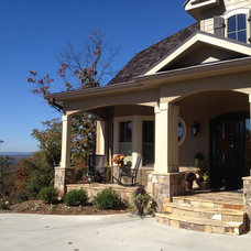 Traditional Exterior by Total Quality Home Builders, Inc.