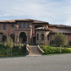 Mediterranean Exterior by Cornell Custom Homes, Inc
