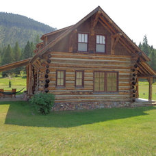 Rustic Exterior by Yellowstone Traditions