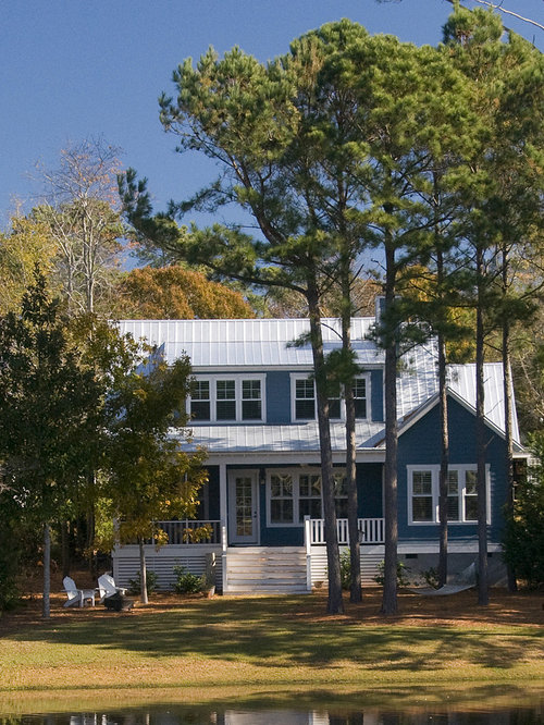 Blue Metal Roof Ideas Pictures Remodel And Decor