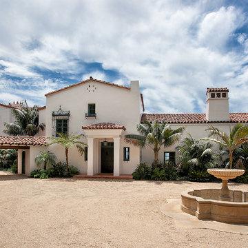 Hope Ranch Contemporary Mediterranean