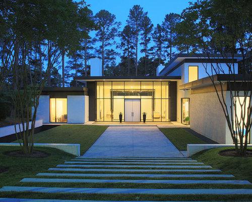 Modern Raleigh Exterior Home Design Ideas Remodels Photos