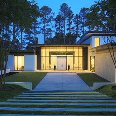 Modern Exterior by Szostak Design Inc