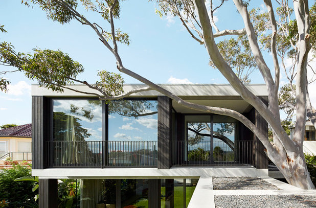 Modern Exterior by B.E Architecture