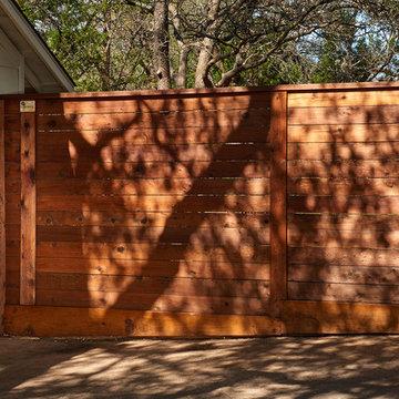 Horizontal Home Fencing