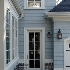 Traditional Exterior by Kemp Hall Studio