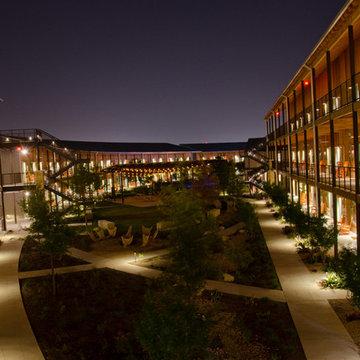 Hotel outdoor lighting