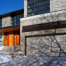 Contemporary Exterior by Peter A. Sellar - Architectural Photographer