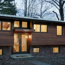 Contemporary Exterior by Bennett Frank McCarthy Architects, Inc.