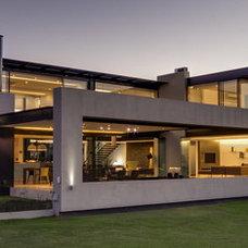 Contemporary Exterior by M Square Lifestyle Design
