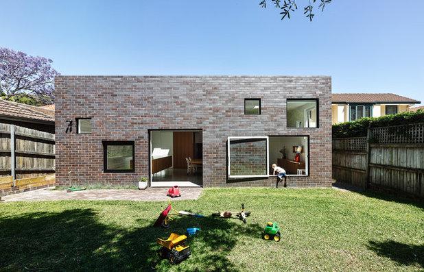コンテンポラリー 家の外観 by Tribe Studio Architects