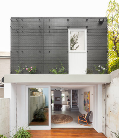 8 extensions australiennes font entrer le jardin dans la - Maison camperdown carter williamson architects ...
