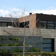 Contemporary Exterior by lorraine Pennington
