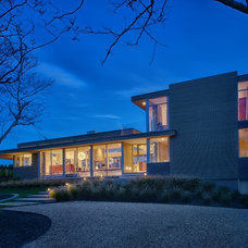 Contemporary Exterior by Stelle Lomont Rouhani Architects