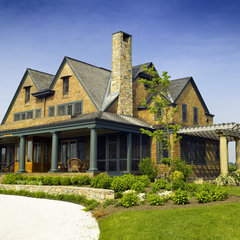traditional exterior by Lanny Nagler Photography