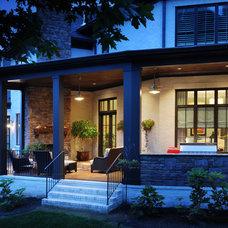 Contemporary Exterior House Exterior - Rear