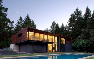 Houzz Tour: 2 Modern Buildings on an Upscale Farm