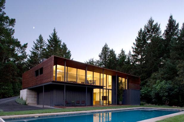 Contemporary Exterior by Cooper Joseph Studio