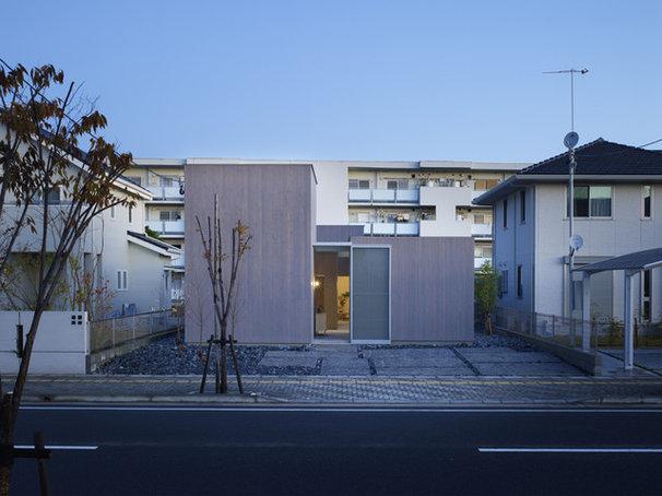 Contemporary Exterior House in Buzen