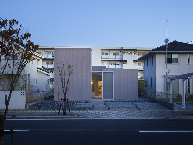 Contemporary Exterior House in Buzen