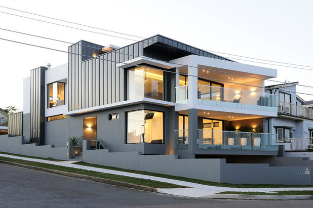 Contemporary Exterior by Zouk Architects