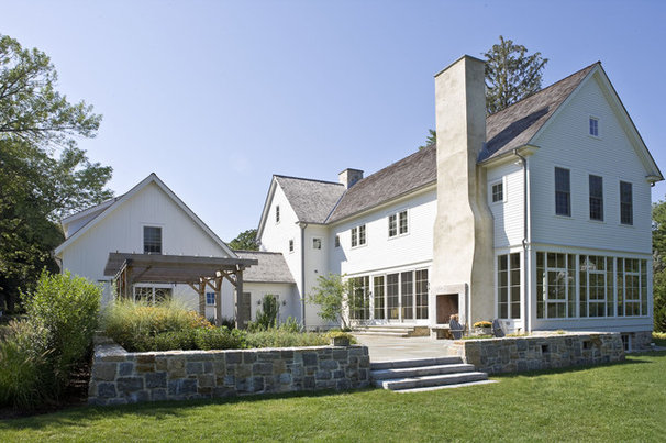 Farmhouse Exterior by Beinfield Architecture PC