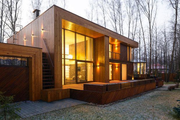 Современный Фасад дома by Александр Жидков