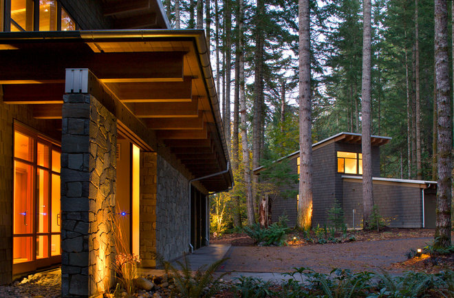 Traditional Exterior by Coop 15 Architecture