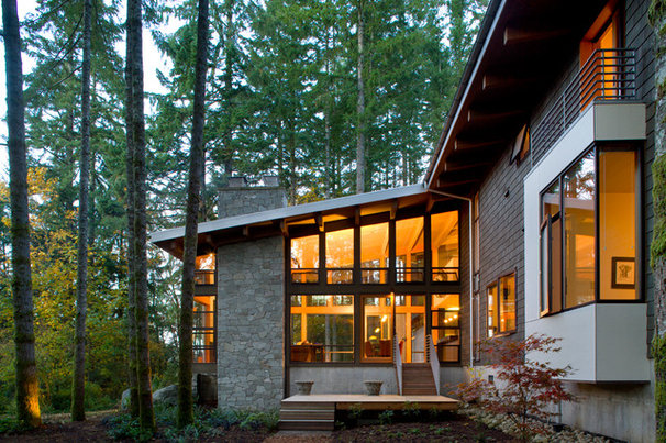 Traditional Exterior by Lane Williams Architects