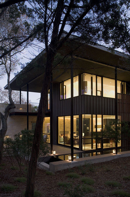 Contemporary Exterior by Tim Cuppett Architects