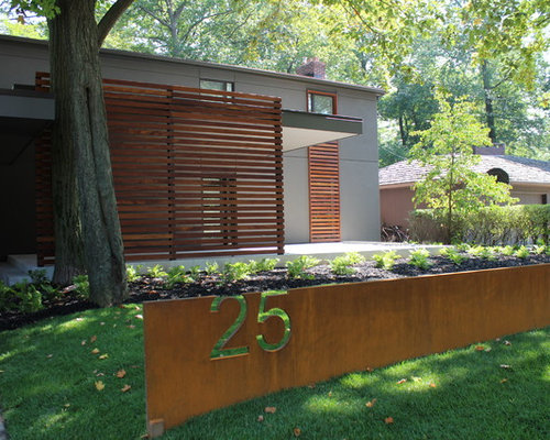 House Number Design Ideas: Midcentury House Number Ideas Home Design Ideas, Pictures