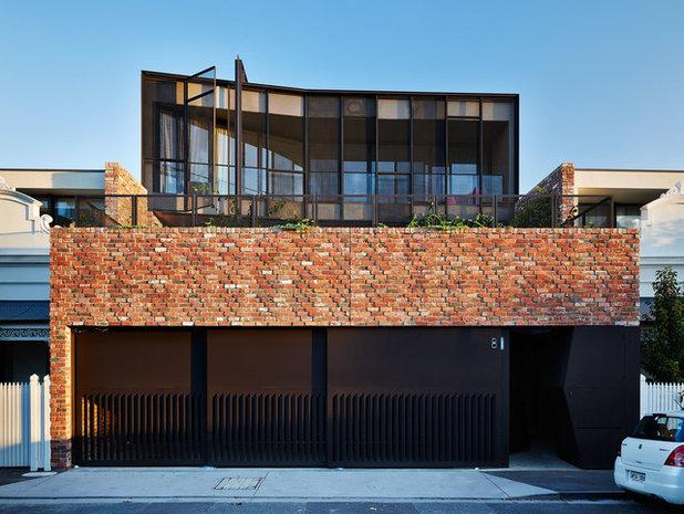 Contemporary Exterior by Jolson