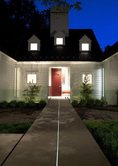 Современная классика Фасад дома by Anthony Wilder Design/Build, Inc.