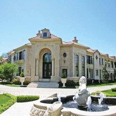Mediterranean Exterior by Dallas Design Group