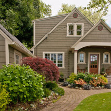 Traditional Exterior by Cornerstone Builders Inc