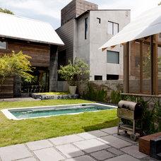 Contemporary Exterior by Shade House Development