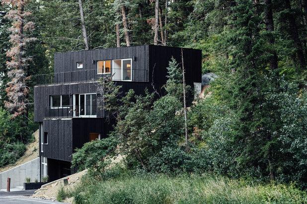 Contemporary Exterior by Park City Design Build