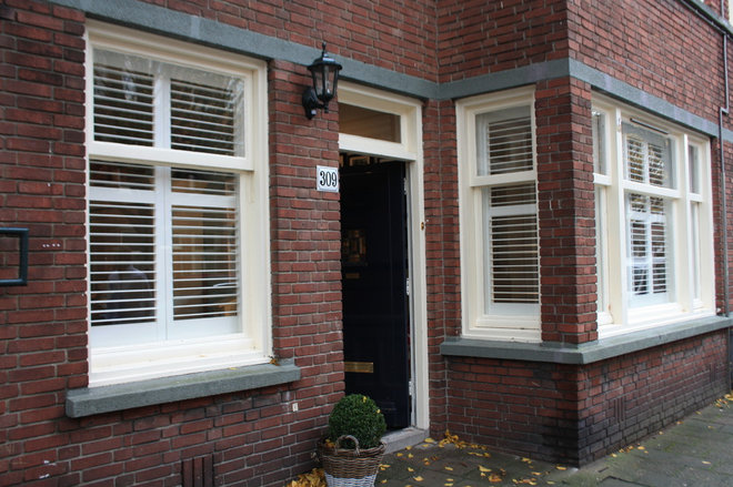 Traditional Exterior by Holly Marder