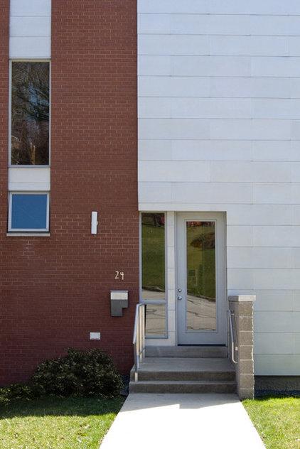 Modern Exterior by Adrienne DeRosa