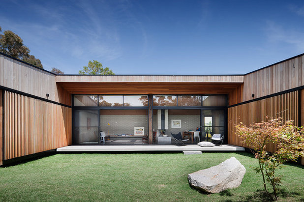 Contemporary Exterior by Bower Architecture