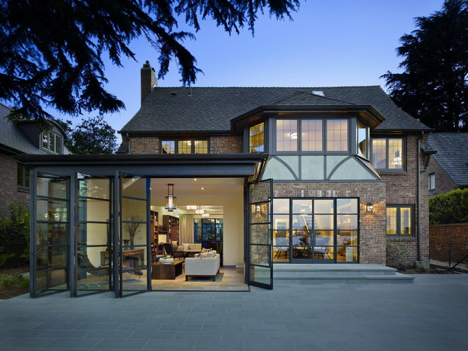 Traditional Exterior by DeForest Architects