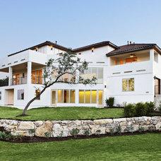Mediterranean Exterior by McCullough Design Associates
