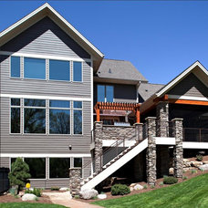 Contemporary Exterior by Legacy Design-Build